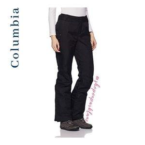 Columbia Bugaboo OmniHeat Snow Pants, Black, Small